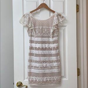 BCBG MAXAZRIA Lace Mini Dress